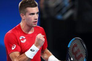 Thiem Coric ATP Cup 2020
