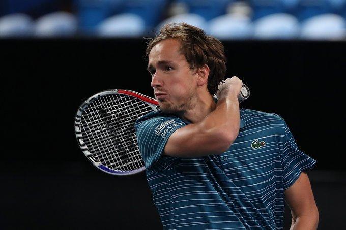 Medvedev Fognini ATP Cup 2020