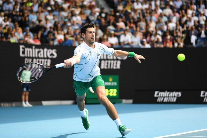 Djokovic Schwartzman Open Australia 2020