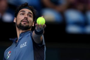 Fognini Isner ATP Cup 2020