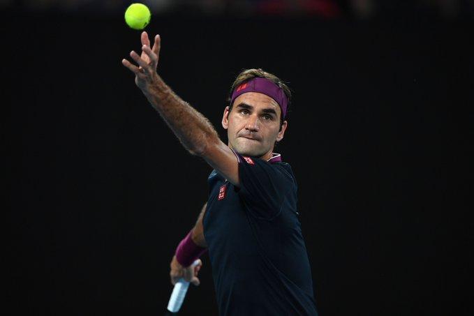 Federer Krajinovic Australian Open 2020