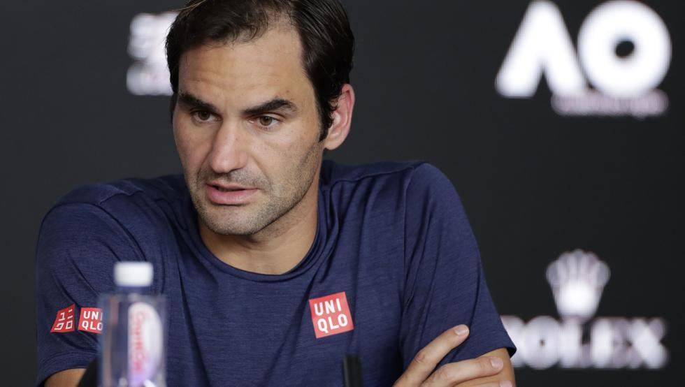 Federer declaraciones Open Australia 2020