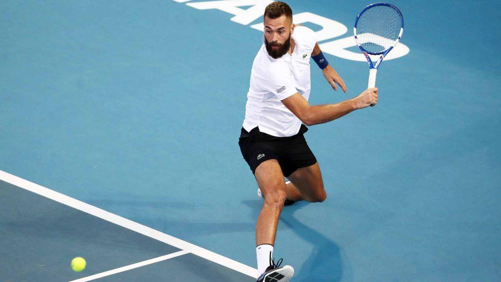 Benoit Paire ATP Auckland 2020