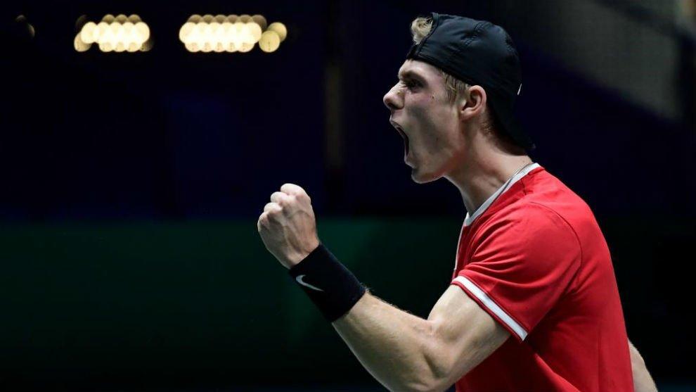 Shapovalov Tsitsipas ATP Cup 2020