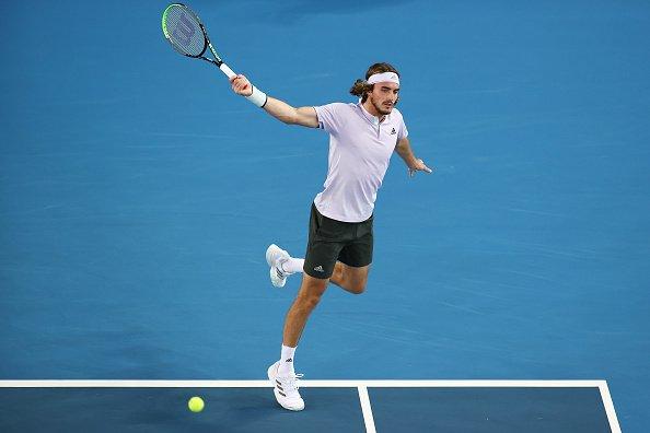 Tsitsipas Caruso Australian Open 2020