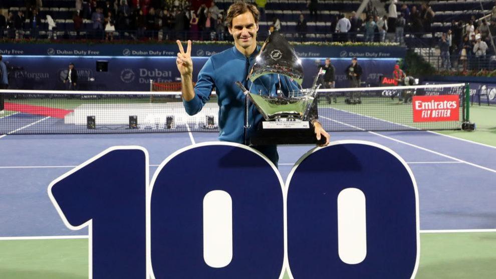 Los títulos de Roger Federer año por año