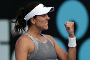 Muguruza Jabeur WTA Hobart 2020