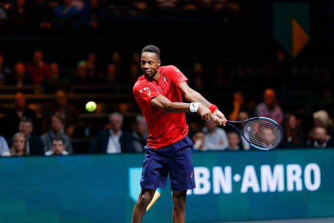 Monfils Evans ATP Rotterdam 2020
