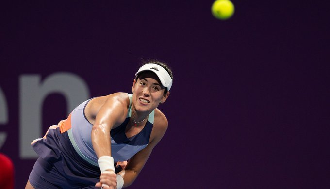 Muguruza Kasatkina WTA Doha 2020