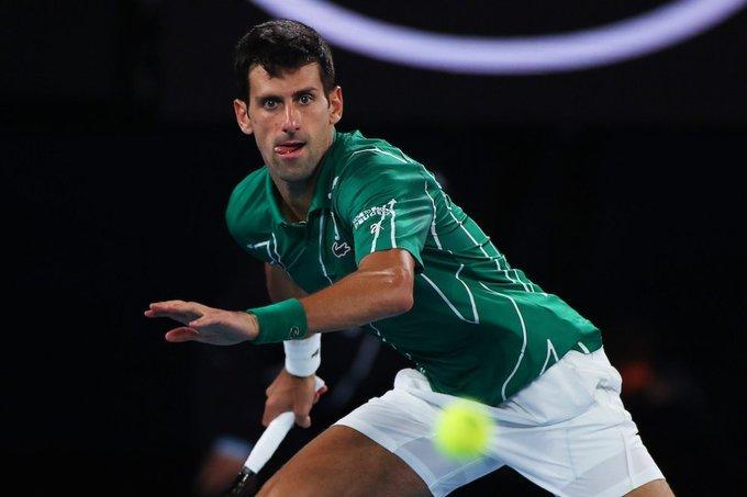 Djokovic Jaziri ATP Dubai 2020
