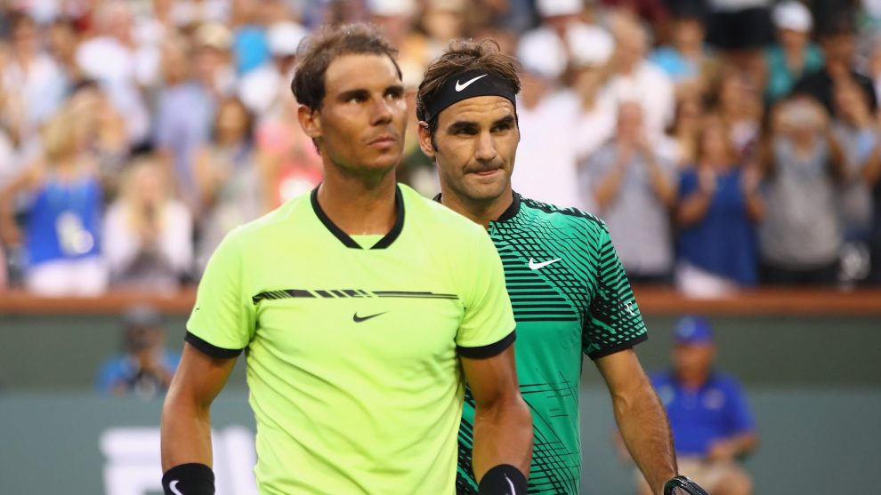 Efemérides 15 de marzo Federer Nadal Indian Wells