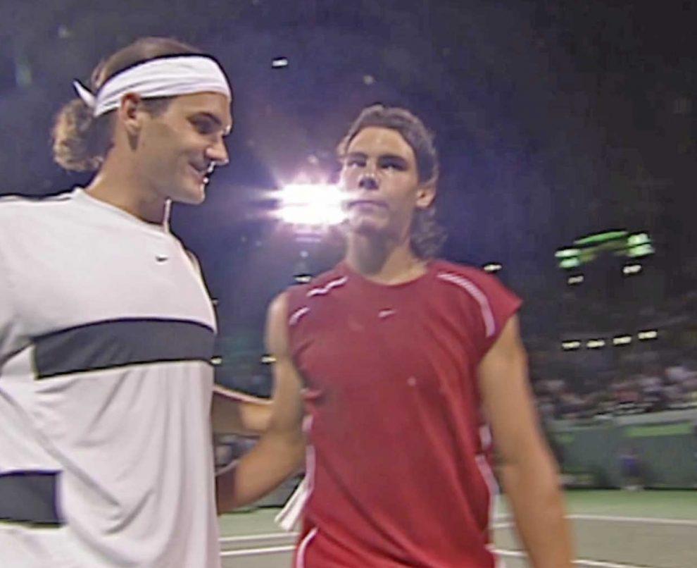 Aniversario rivalidad Nadal Federer
