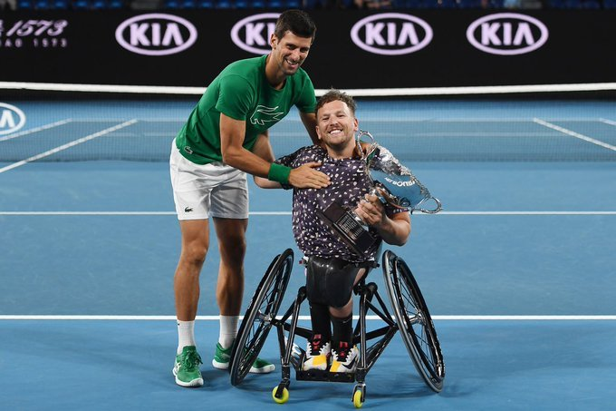 Quad tenis silla de ruedas