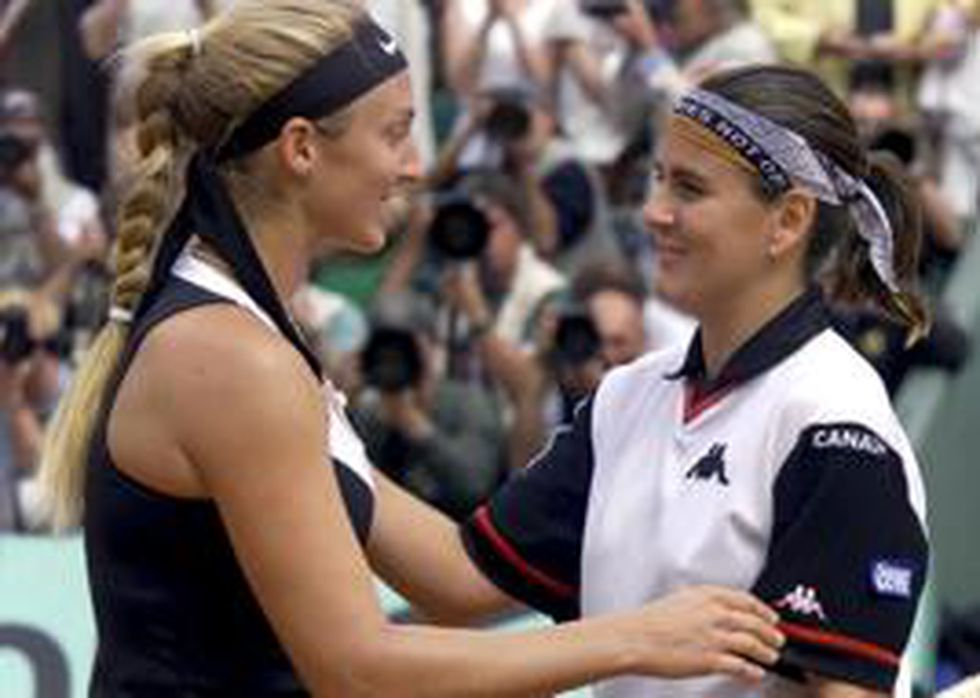 Conchita Martínez final Roland Garros 2000