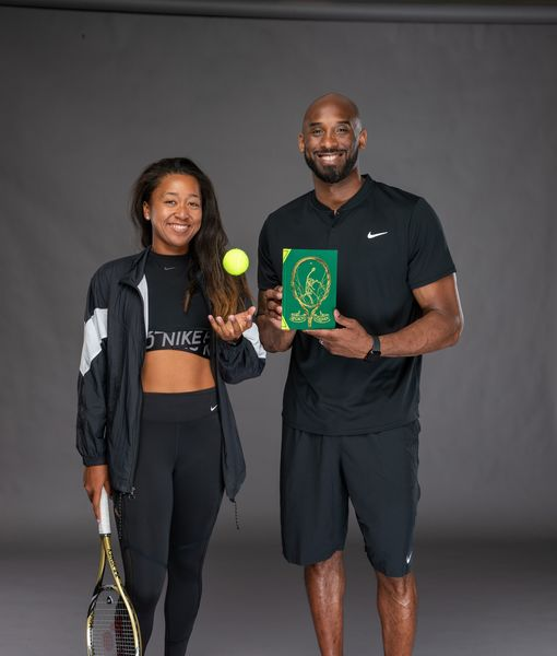 Kobe Bryant libro tenis