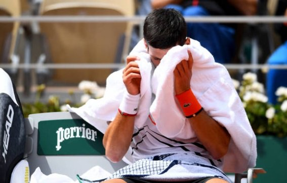 Djokovic retirada tenis 2010