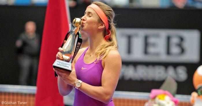 jugadoras títulos WTA Estambul