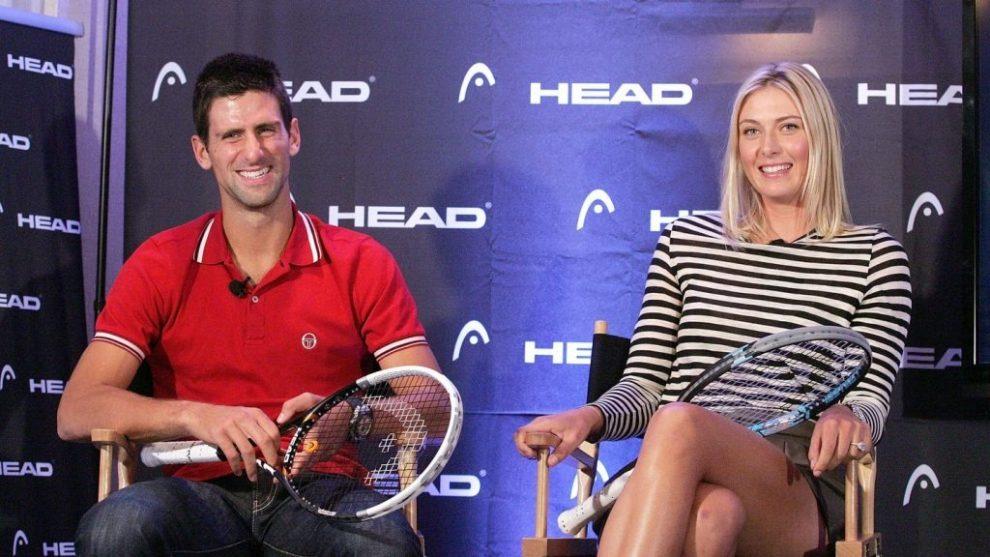Djokovic borracho directo Sharapova