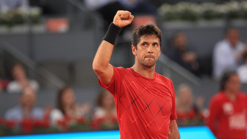 tenistas con más torneos jugados en el Mutua Madrid Open