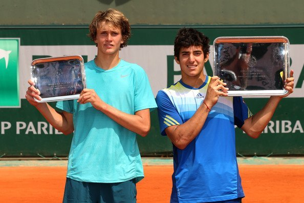 Garín campeón Roland Garros