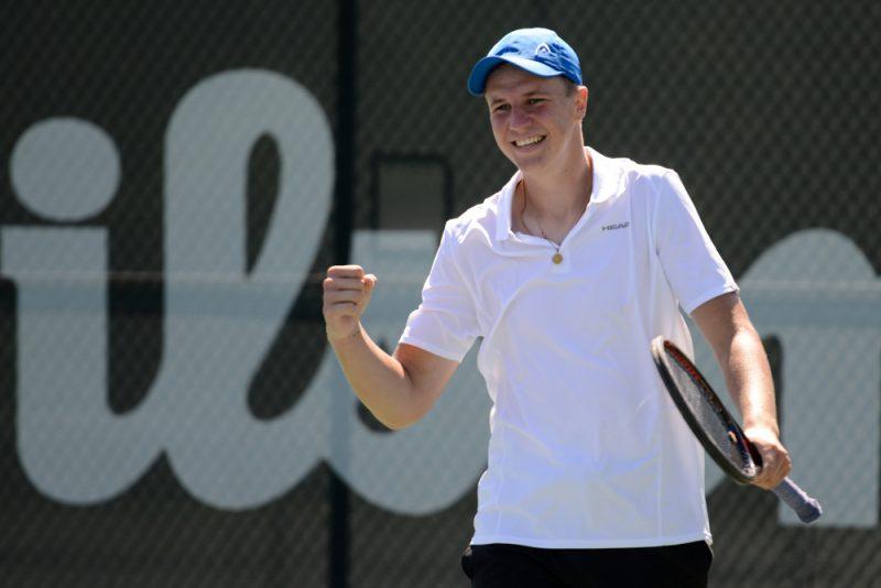 Karlis Ozolins futuro tenis