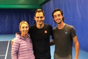 Thiago Tirante Roger Federer