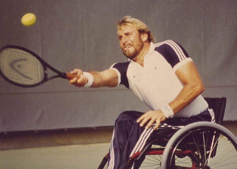 Brad Parks tenis silla