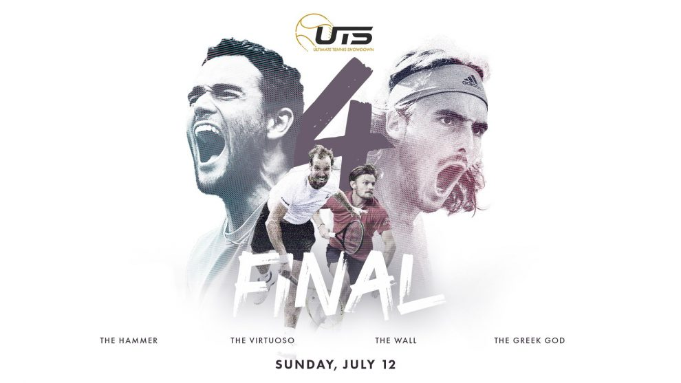 ultimate tennis showdown semifinales