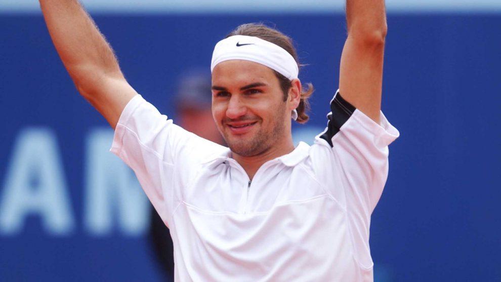 Federer título Gstaad 2004