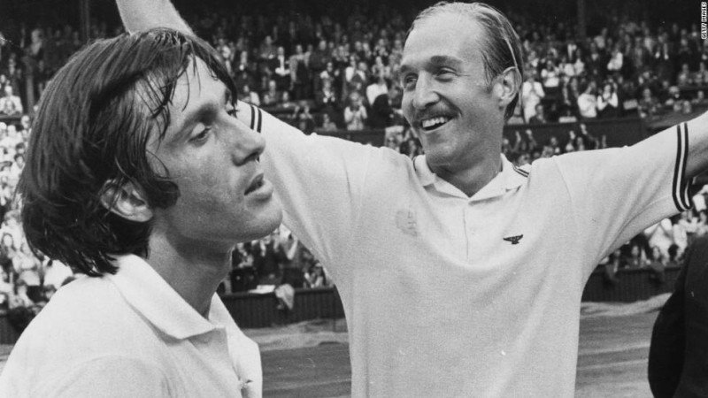 Smith Nastase Wimbledon 1972