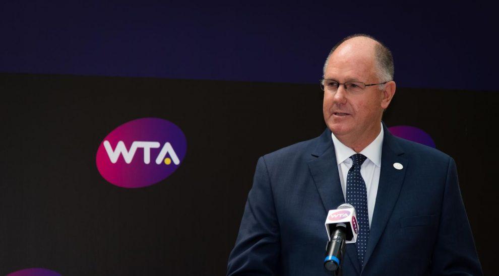 Presidente WTA declaraciones 2020