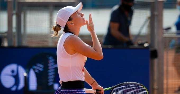 Simona Halep WTA Praga