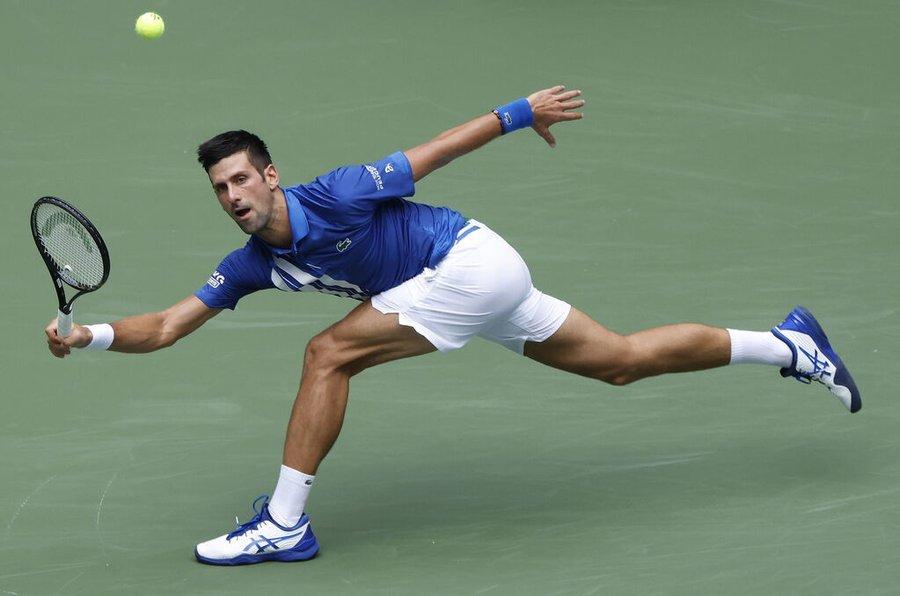 Novak Djokovic Edmund