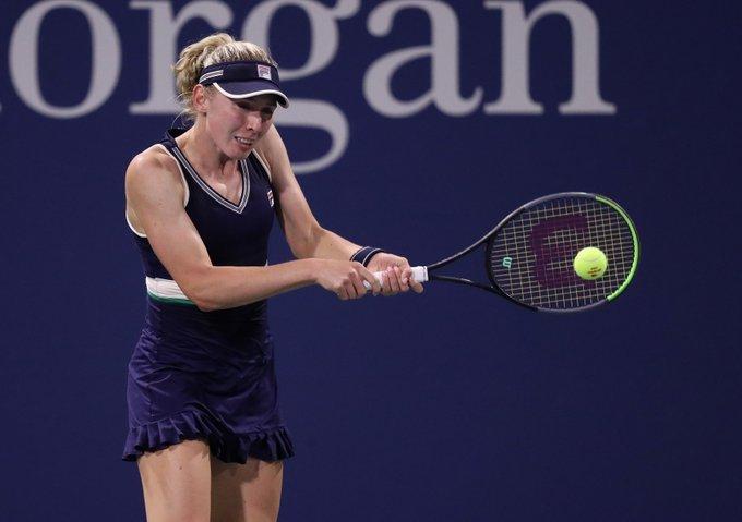 Alexandrova Clijsters US Open 2020