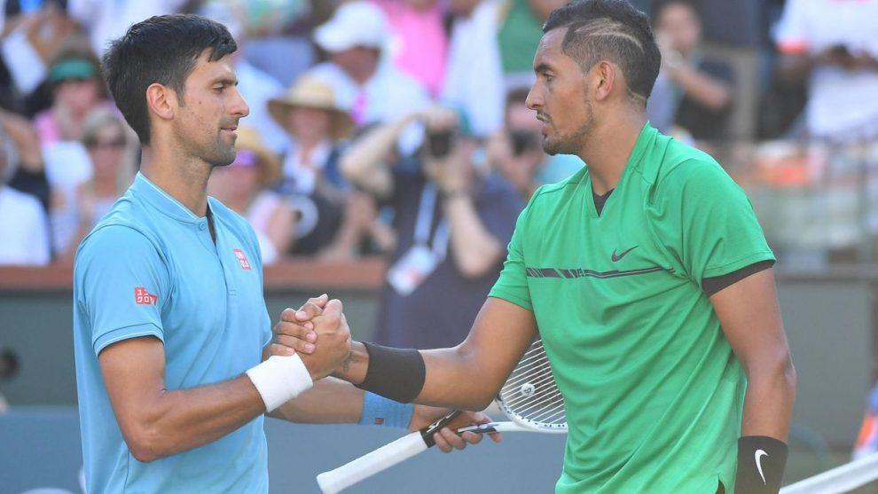 Kyrgios descalificación Djokovic