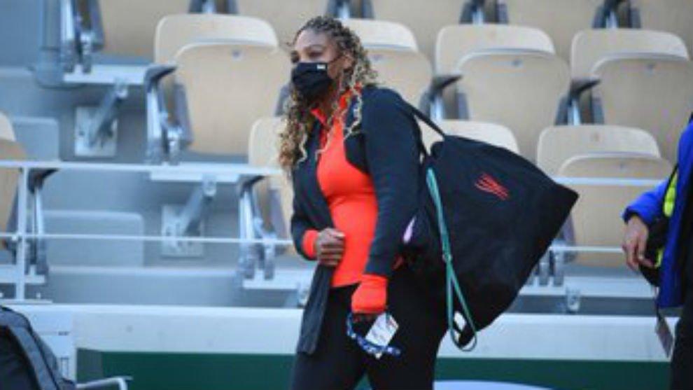 Serena baja Roland Garros