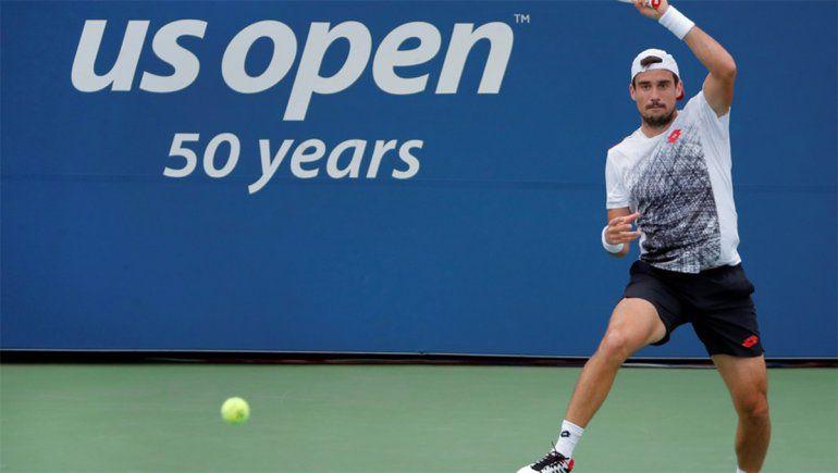 Pella enfado US Open