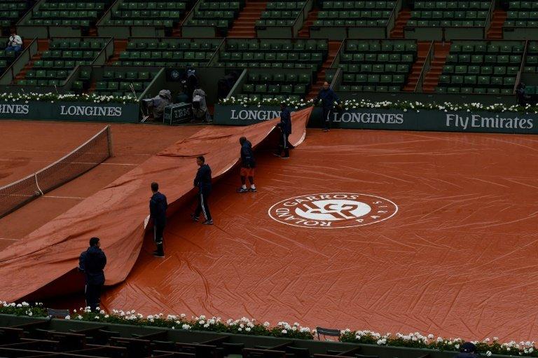 Previsión lluvia Roland Garros
