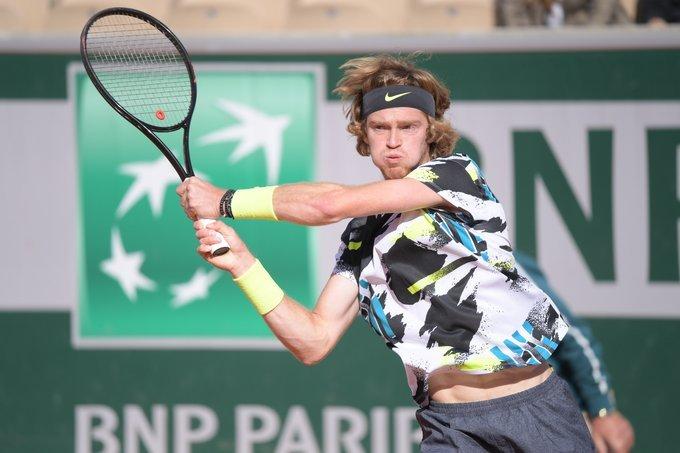 Fucsovics Rublev Roland Garros