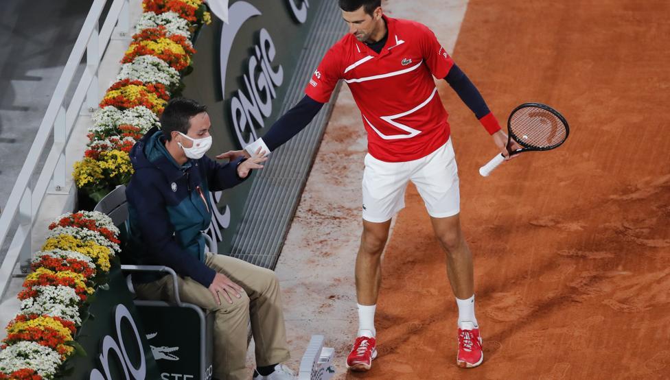 Djokovic declaraciones pelotazo