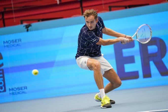 Medvedev Pospisil ATP Viena