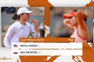 Previa final femenina Roland Garros 2020