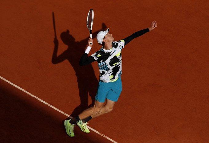 Sinner Zverev Roland Garros