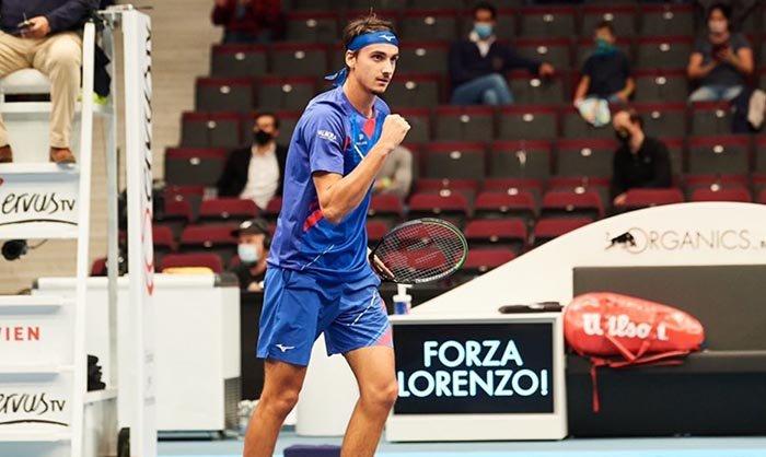 Evans Sonego ATP Viena