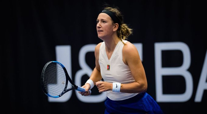 Azarenka Sakkari WTA Ostrava