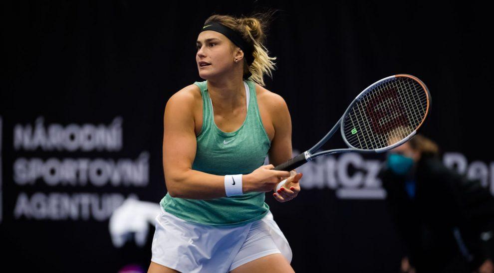 Sabalenka Sorribes WTA Ostrava