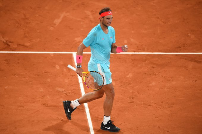 Nadal Sinner Roland Garros 2020