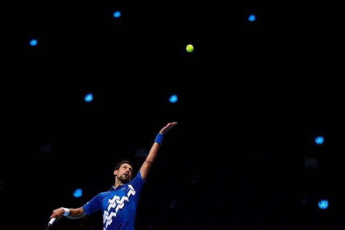 Djokovic Schwartzman Nitto ATP Finals 2020