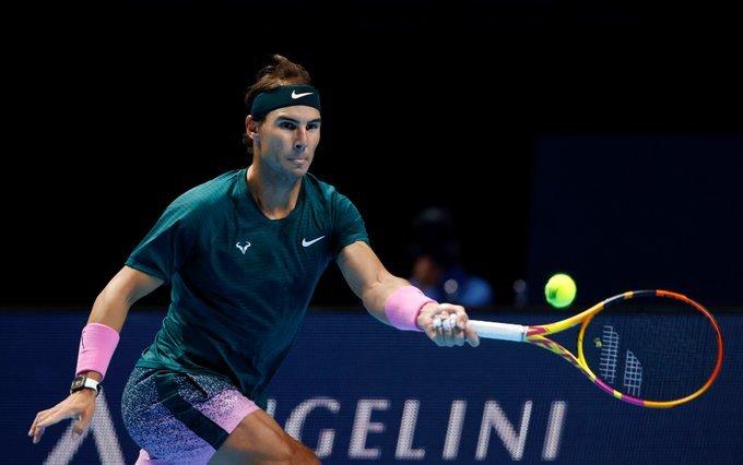 Nadal Rublev Nitto ATP Finals