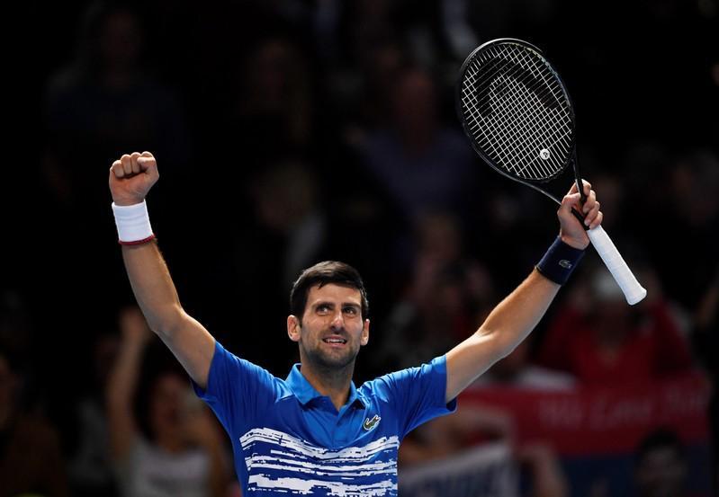 Djokovic Nitto ATP Finals 2020